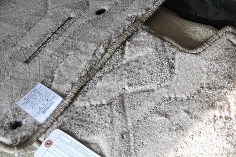 NEW! Оригинальные коврики в салон TOYOTA PRADO-120=150 фирменн... - Фото 7