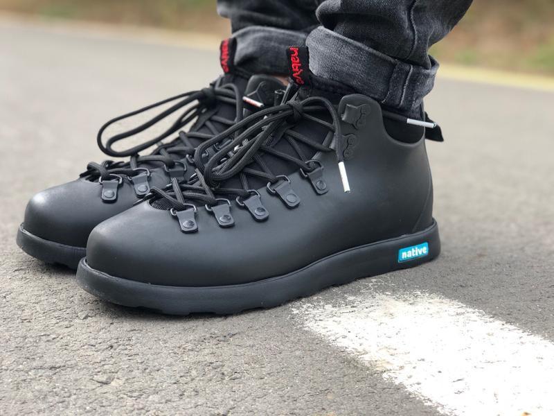 Крутые ботинки 🔥 native fitzsimmons black 🔥 зима - Фото 3