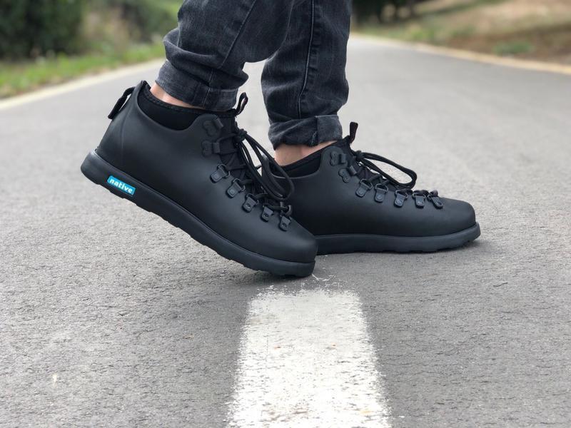 Крутые ботинки 🔥 native fitzsimmons black 🔥 зима - Фото 5