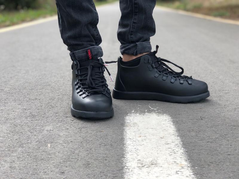 Крутые ботинки 🔥 native fitzsimmons black 🔥 зима - Фото 6