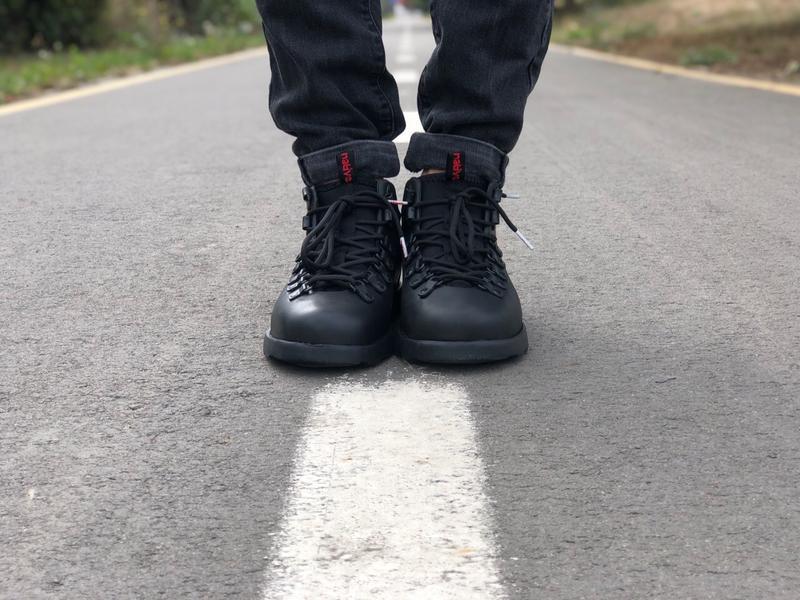 Крутые ботинки 🔥 native fitzsimmons black 🔥 зима - Фото 7