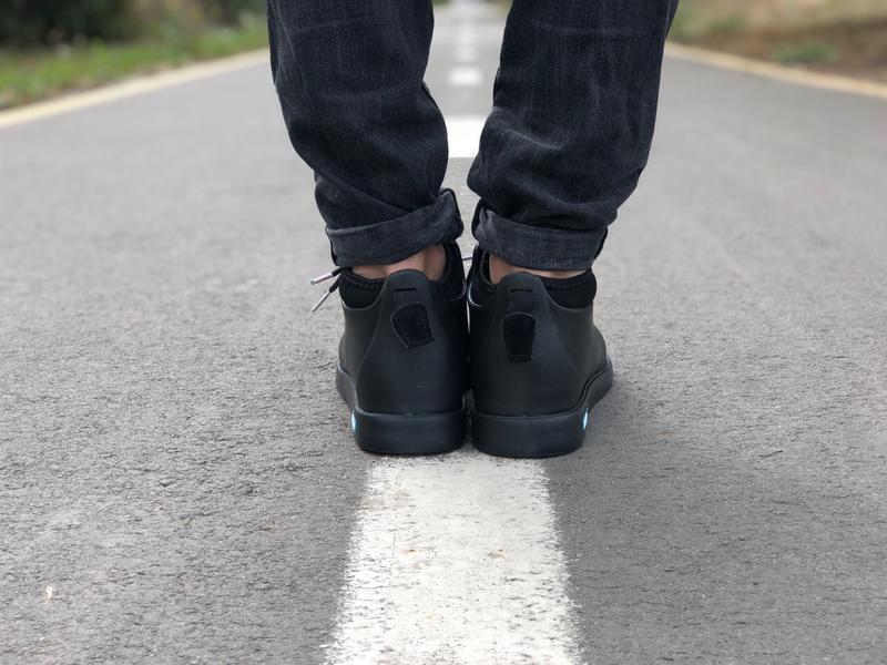 Крутые ботинки 🔥 native fitzsimmons black 🔥 зима - Фото 8