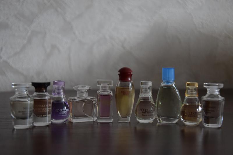 Набор мини-ароматов ив роше ( 9 разных ароматов)