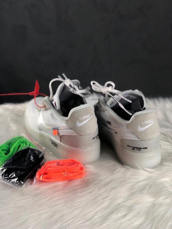 Nike air force 1 low стильные кроссовки - Фото 5
