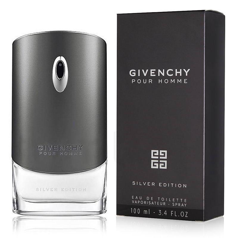 Givenchy Pour Homme Silver Edition.  Туалетная вода мужская