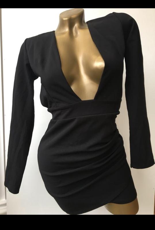Платье мини открытая спина in the style