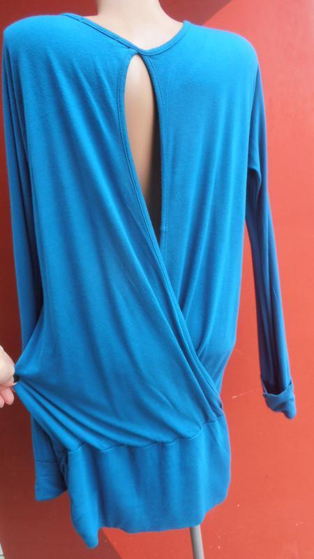 Классная туника с приоткрытой спинкой и накаткой от girly fashion - Фото 3