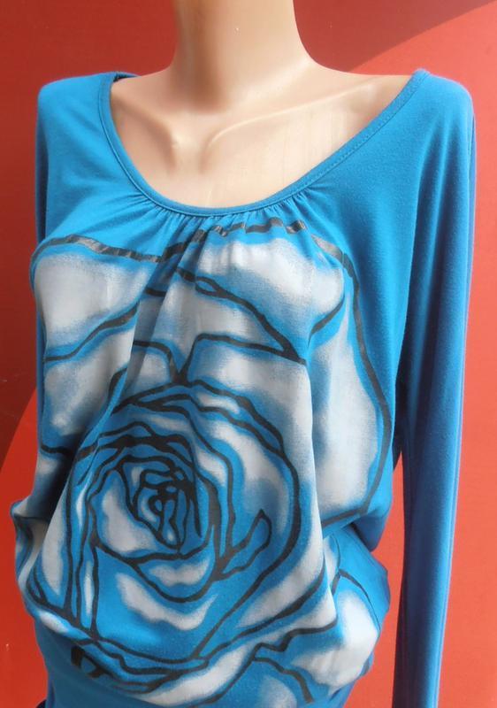 Классная туника с приоткрытой спинкой и накаткой от girly fashion - Фото 4