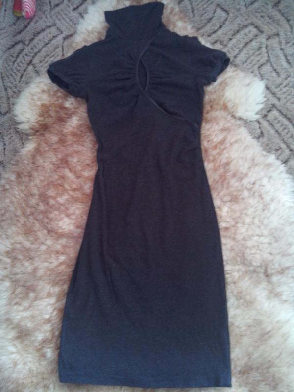 Стильное облегающее платье-миди от sogo fashion - Фото 4