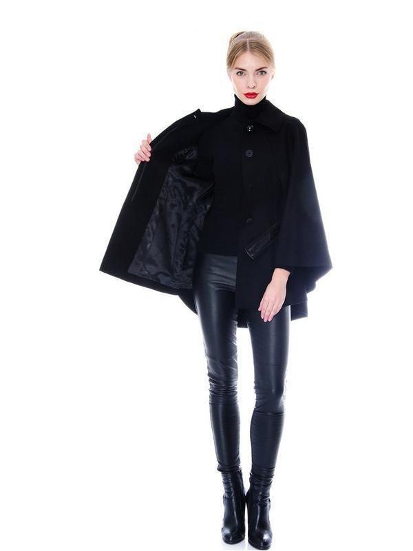 Стильное пальто-кейп от f&f ( универсальный р-р )
