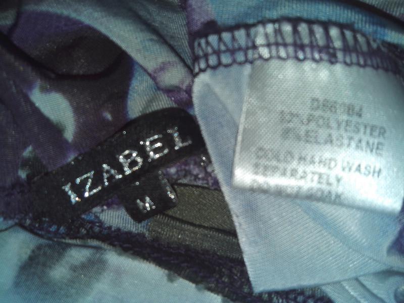 Фиалковое платье в пол от izabel - Фото 5