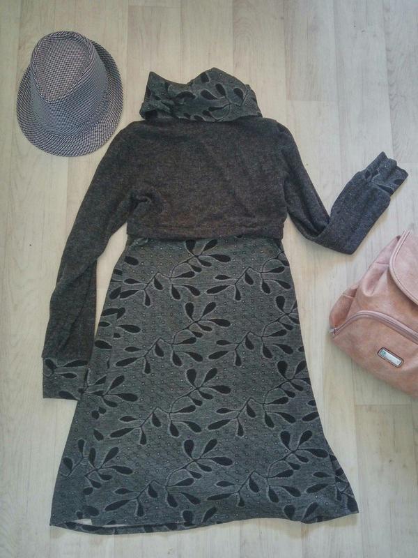 Уютное и тёплое платье-миди - Фото 2