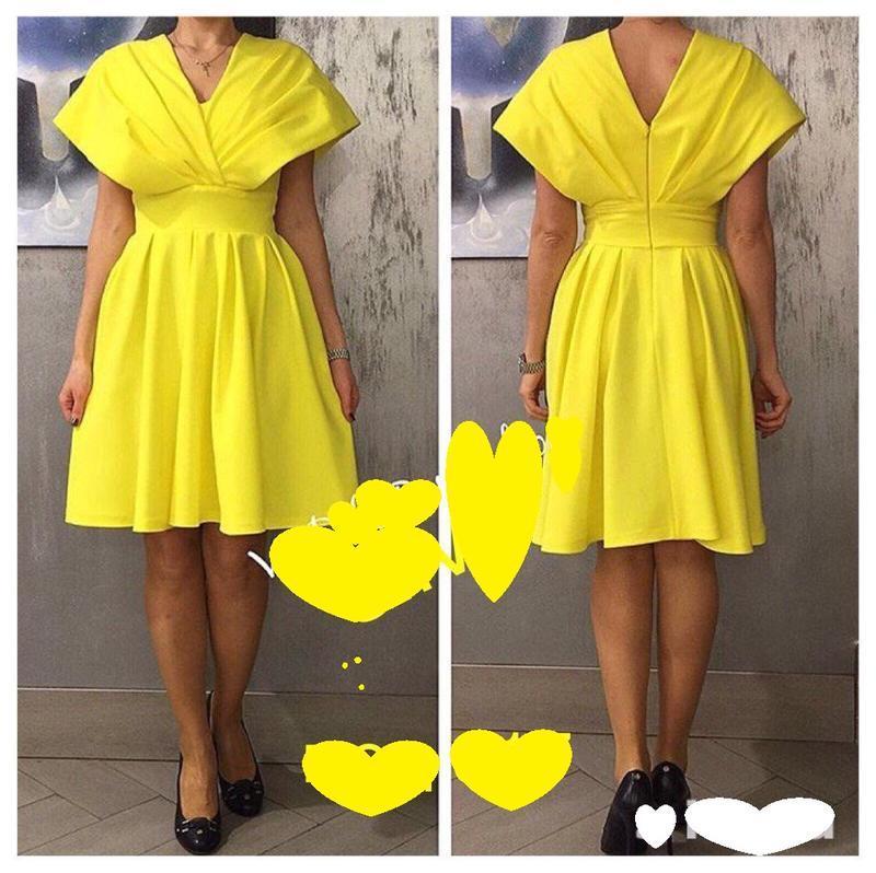 Шикарное солнечное платье