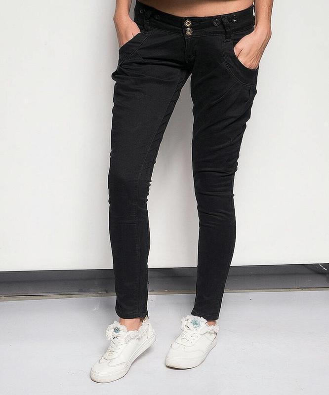 Крутые джинсы-галифе с подтяжками от g' mardoc - Фото 2
