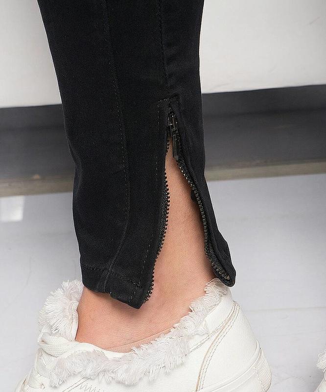 Крутые джинсы-галифе с подтяжками от g' mardoc - Фото 3