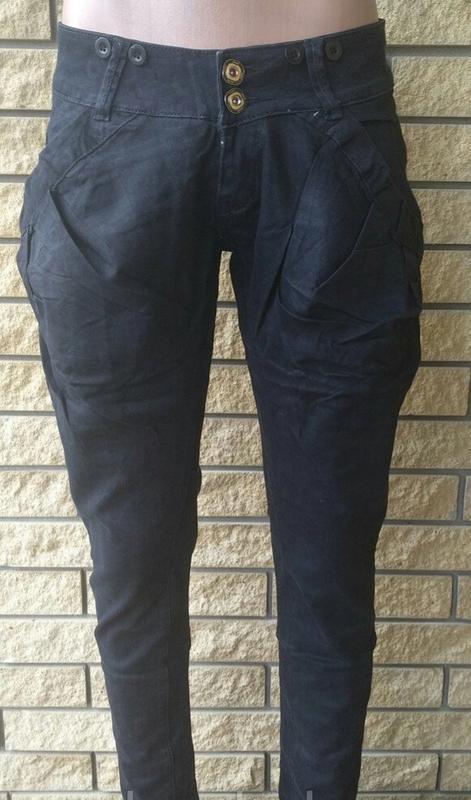 Крутые джинсы-галифе с подтяжками от g' mardoc - Фото 5