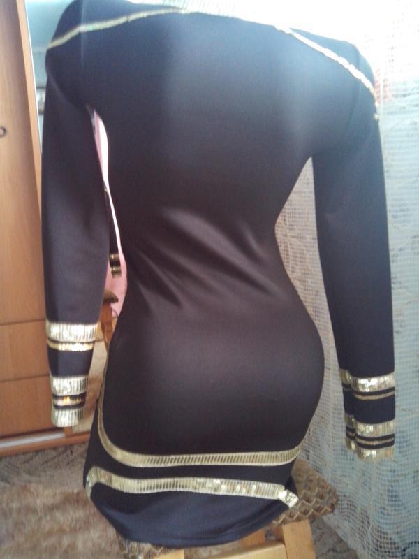 Чёрное платье-мини - Фото 3