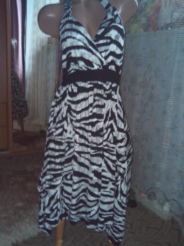 Классное лёгкое летнее натуральное платье