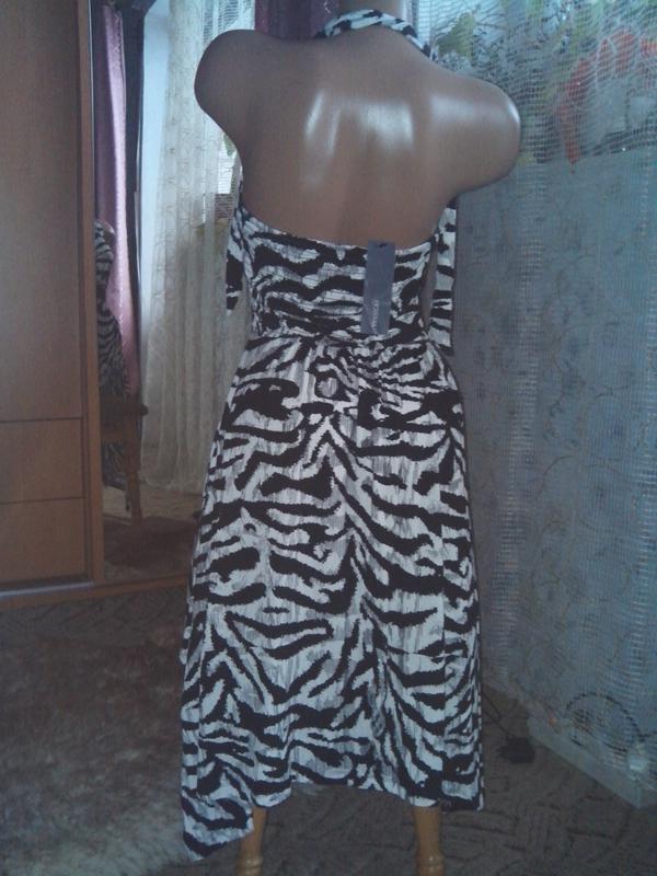 Классное лёгкое летнее натуральное платье - Фото 3