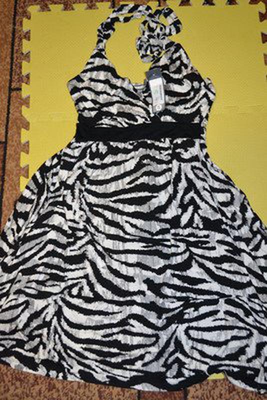 Классное лёгкое летнее натуральное платье - Фото 5