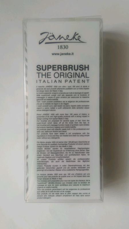 Расческа для волос Janeke 1830 - Superbrush The Original Italian - Фото 2