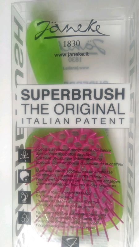 Расческа для волос Janeke 1830 - Superbrush The Original Italian
