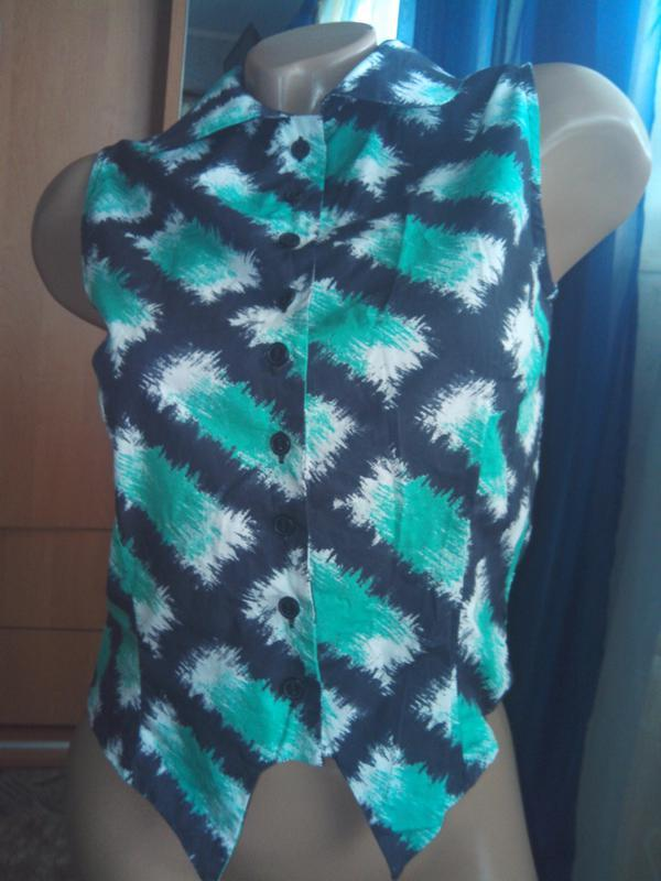 Лёгкая блузка-рубашка из натуральной ткани от н&м