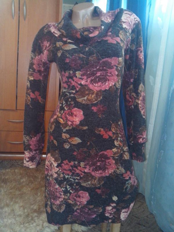 Красивое тёплое платье