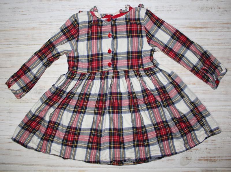 Красивое платье next на 9-12мес. - Фото 2