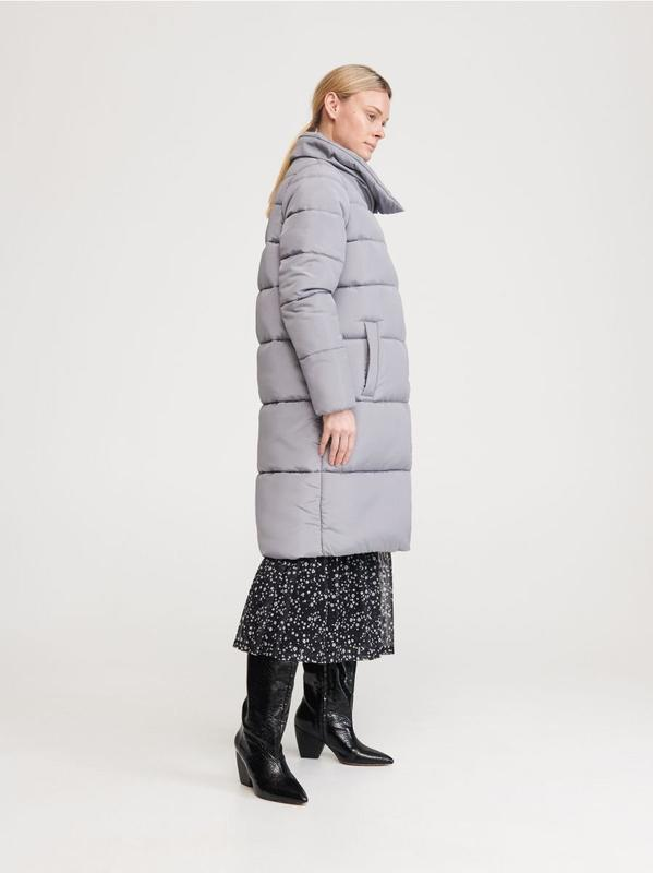 Пуховик-одеяло куртка reserved - Фото 2