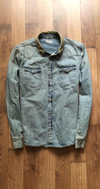 Джинсовая рубашка AllSaints