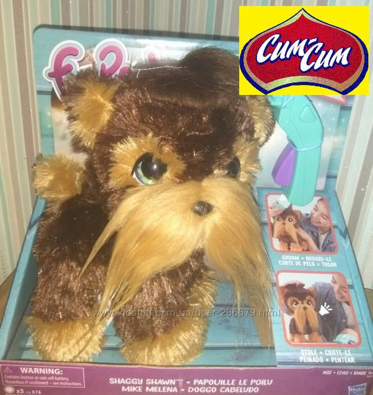 Интерактивная игрушка Лающий лохматый щенок Шон FurReal Friends - Фото 2