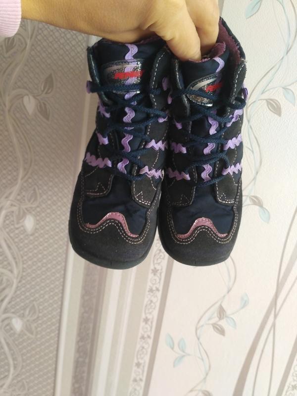 Сапожки, ботинки демисезонные. 24 р - Фото 2