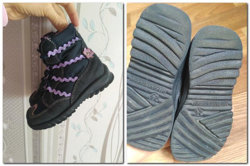 Сапожки, ботинки демисезонные. 24 р - Фото 4
