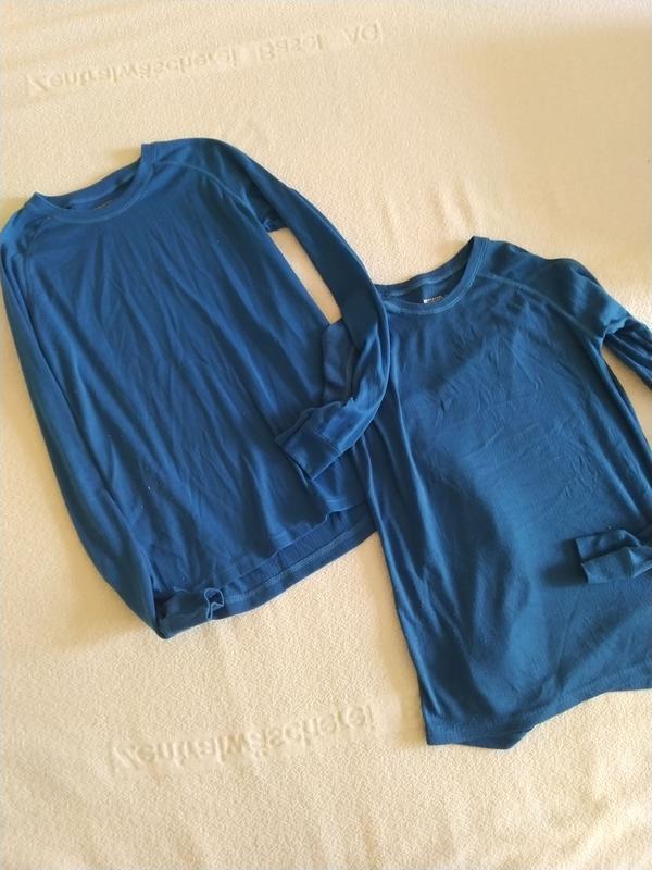 Нательная футболка. реглан. термо кофта. 10-12 лет