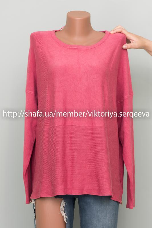 Большой выбор свитеров - красивый вискозный свитер с замочками...