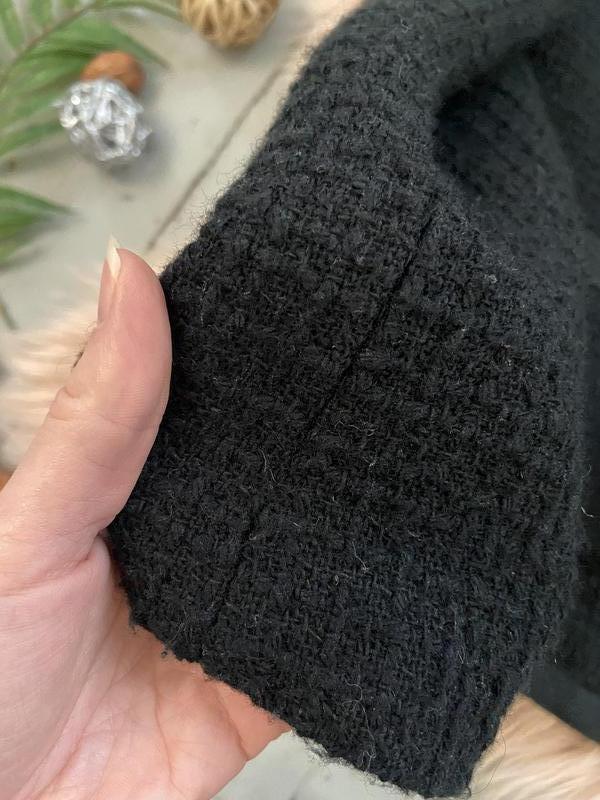 Твидовый пиджак жакет блейзер - Фото 3
