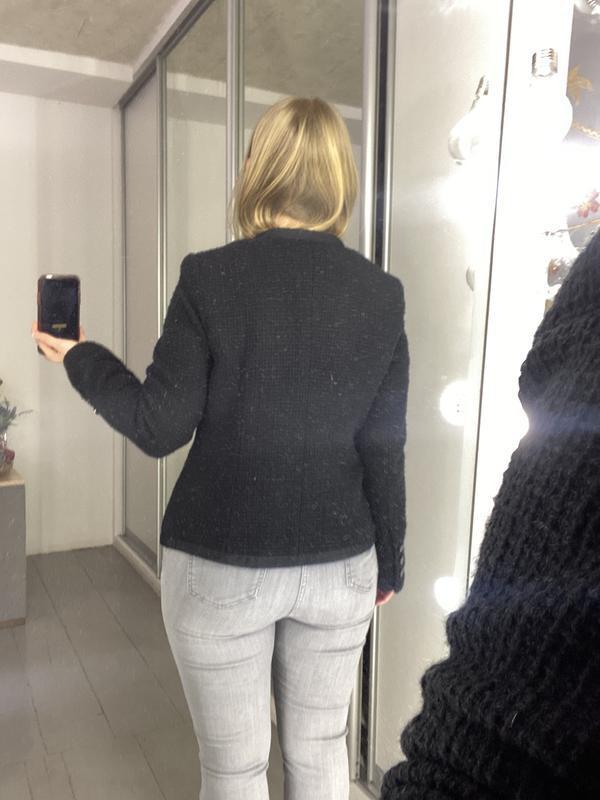 Твидовый пиджак жакет блейзер - Фото 6