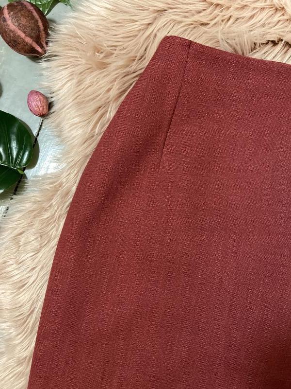 Актуальная винтажная юбка на запах №150 - Фото 3