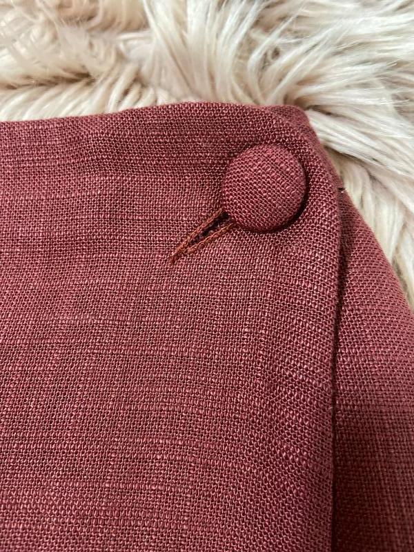 Актуальная винтажная юбка на запах №150 - Фото 5
