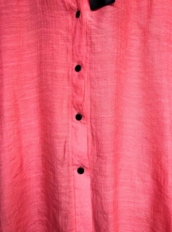 Пляжная туника рубашка кардиган на пуговицах - Фото 3