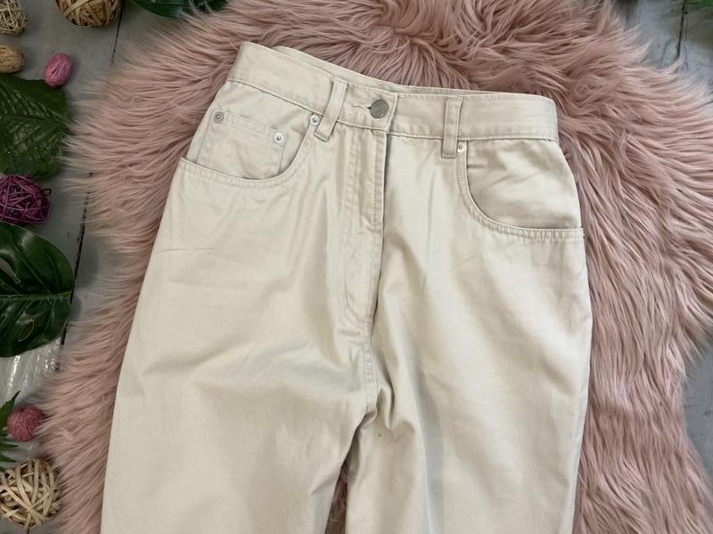Актуальные винтажные прямые джинсы на высокой посадке №134 - Фото 2