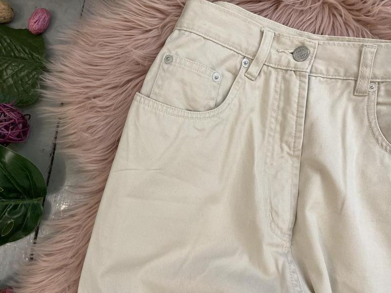 Актуальные винтажные прямые джинсы на высокой посадке №134 - Фото 3