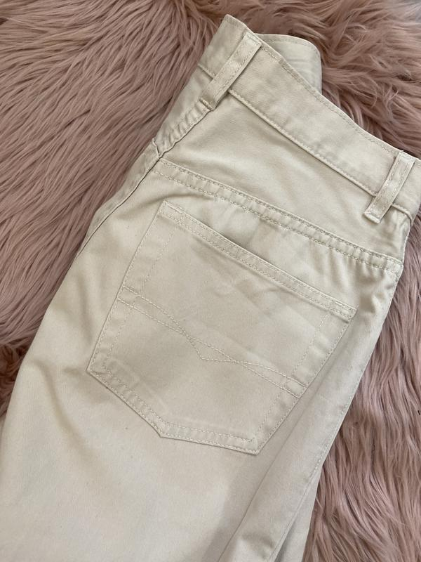 Актуальные винтажные прямые джинсы на высокой посадке №134 - Фото 4