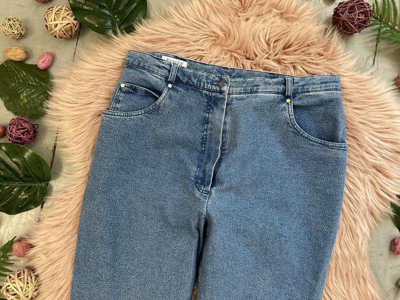 Актуальные винтажные прямые джинсы высокая посадка №135 - Фото 2