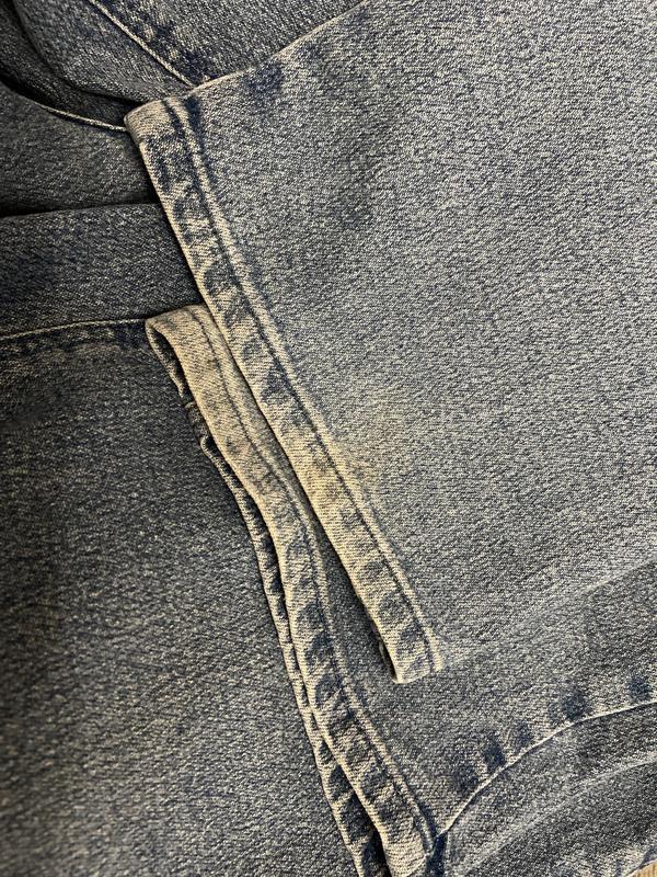 Актуальные винтажные прямые джинсы высокая посадка №135 - Фото 6