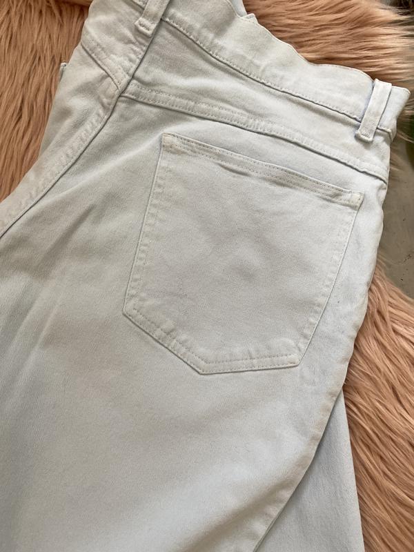 Актуальные винтажные прямые джинсы высокая посадка №136 - Фото 4