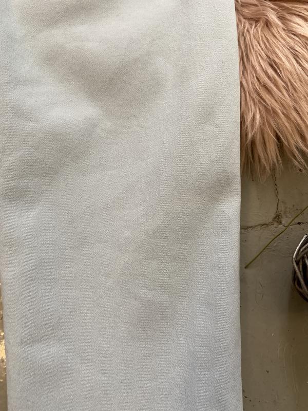 Актуальные винтажные прямые джинсы высокая посадка №136 - Фото 5