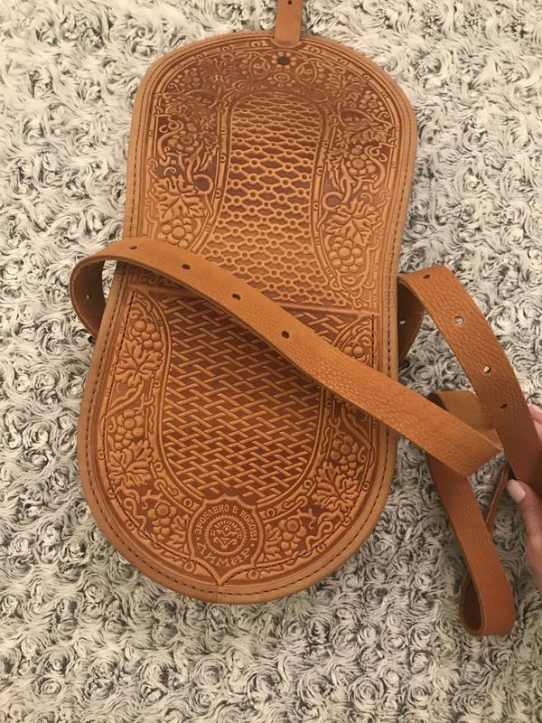 Кожаная сумка - Фото 4