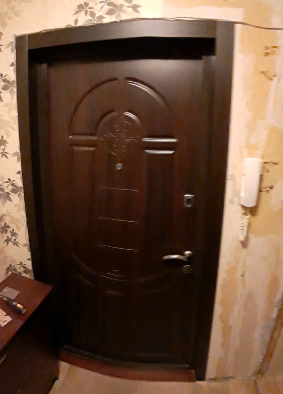 Откосы и наличники на входные двери из мдф